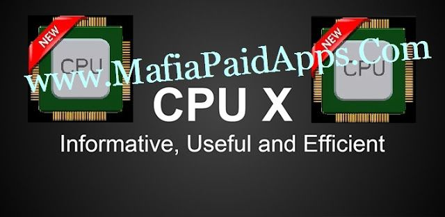 CPU X : System & Hardware Info v1.69 (Ad Free) Apk   CPU X shows information about device like processor cores speed model ram camera sensors etc. and you can monitor internet speed ( in notifications & status bar ) data usage ( daily & monthly ) .  FEATURES   Internet Speed Monitor - See current download & upload speed in notifications and combined speed in status bar.   Data Usage Monitor - Monitor the data usage ( daily monthly) over WiFi and mobile networks with beautiful graphs…