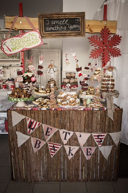 Christmas Booth with Cake Buffet | Flickr - Fotosharing!