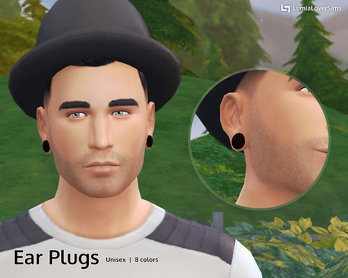 Ear Plugs - Piercings I've been working on this... - LumiaLover Sims
