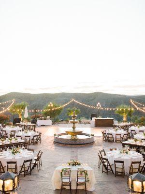 Peach + Blush Hummingbird Nest Ranch Wedding Gallery - Style Me Pretty