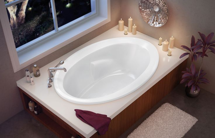 STANDARD MASTER BATHTUB PLAN 1 TWILIGHT Drop In Bathtub