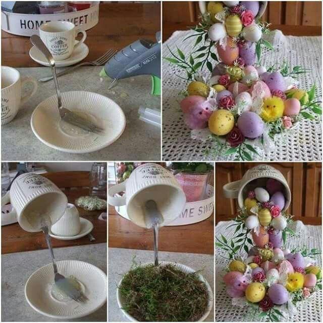 Centrotavola  per Pasqua