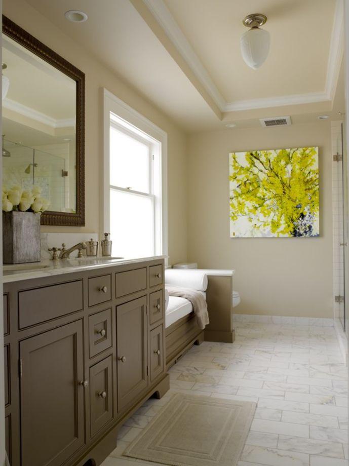 Porch | Brown Bathroom Cabinets from Graciela Rutkowski Interiors