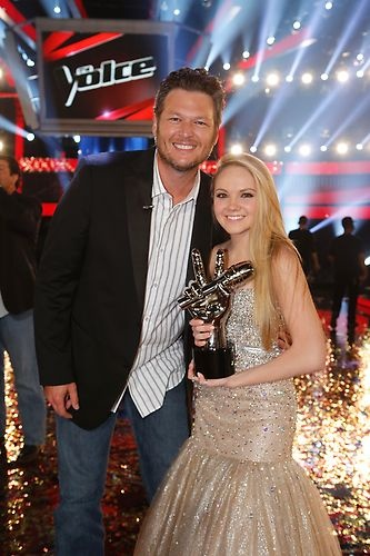 #TeamBlake for the win!