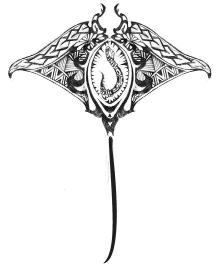 tribal manta ray tats tribal ray tattoo daves tats pinterest deviantart tatueringar. Black Bedroom Furniture Sets. Home Design Ideas