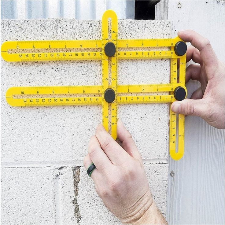 Angleizer Template Tool Measuring Instrument Four-fold Floating Long Rulers for All Angles and Forms angle-izer template tool