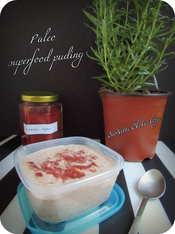 Paleo superfood puding