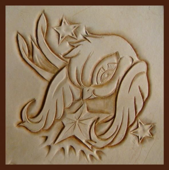 Best images about leather carving and tooling on