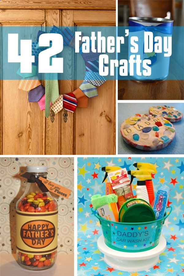 42 Father's Day Craft Ideas