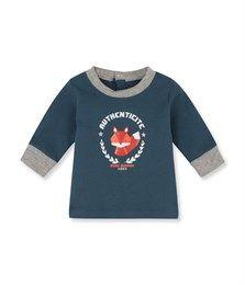 T-shirt bebé bambino maniche lunghe con disegno blu Shadow. Ritrova la nostra gamma d'abbigliamento e intimo per bebé, bambino, moda donna e uomo.