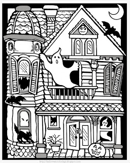 love it intricate halloween coloring page suitable for older children will keep them