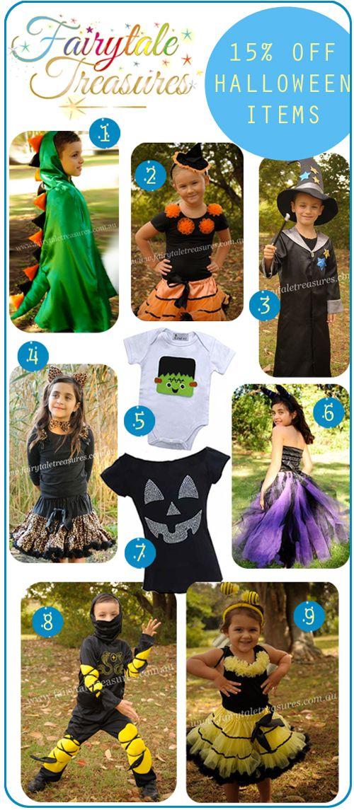 Fairytale Treasures Halloween Costume Sale : 15% Off All Halloween Costumes + FREE Postage On Orders $80+