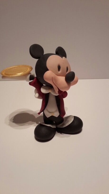 mickey mouse 3d sugar paste