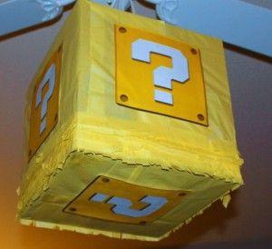 Mario Birthday Party Pinata