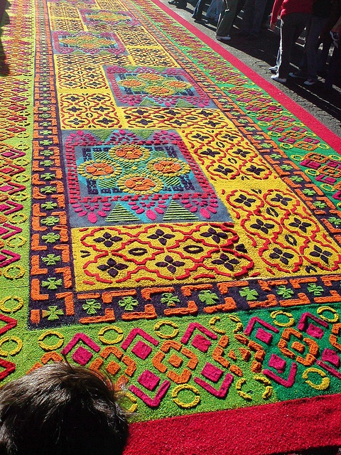 158 best alfombras flores y otros elementos images on pinterest rugs corpus christi and urban art - Alfombras portugal ...