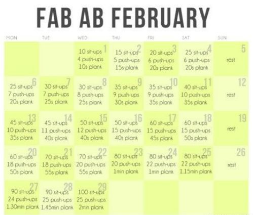 Fab Ab Feb: Abs Challenges, Abs Workout, Fitness, Work Outs, Exercise, Desktop Backgrounds, Abs February, Fab Abs, February Challenge