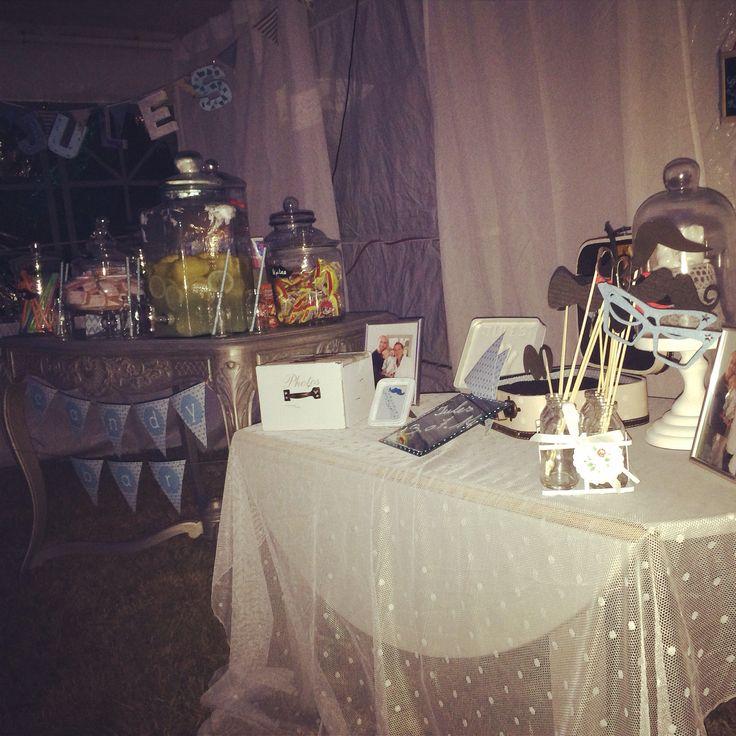 Jolie tables baptême décoré par Jenny I Love Event