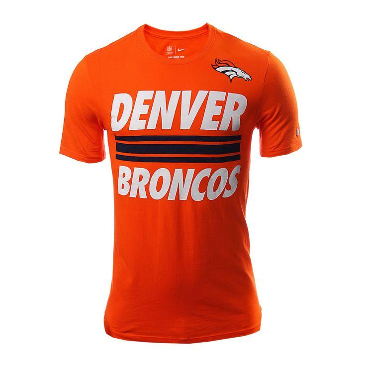 Denver Team Stripe Tee - Hombres