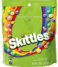 Skittles Sour Candy 7.2 ounce bag