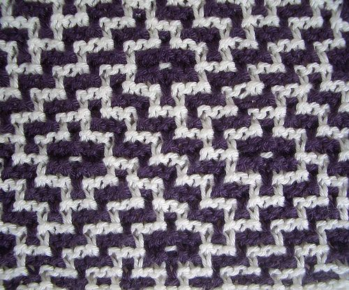 This website shows or links to a huge array of Barbara Walker's knit-stitch patterns, including Mosaic knitting --- NONE of the samples offer charts or instructions; use as inspiration ONLY.