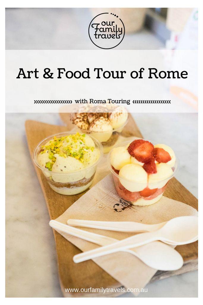 Art and Food Tour Rome