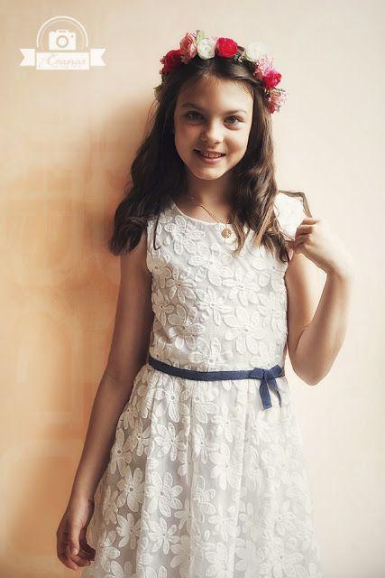 Evamar Fotografía: Reportajes de comunión, fotos de niña / Portrait Photoshoot