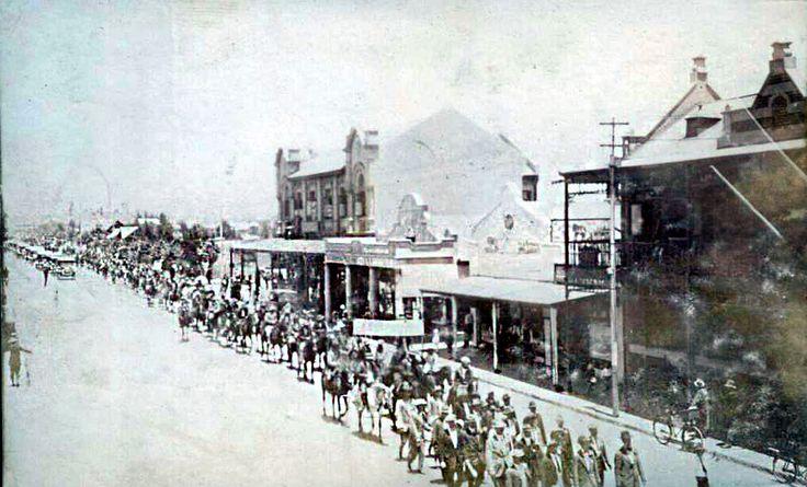 1922 Miner strike - Benoni - Princes Avenue