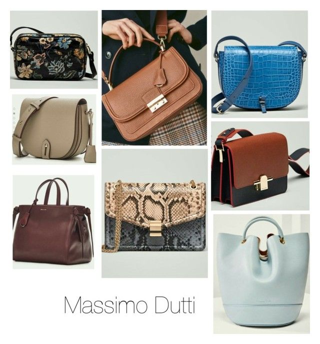 """""""Massimo Dutti Bags"""" by verussia on Polyvore featuring bags, Spain and MassimoDutti"""