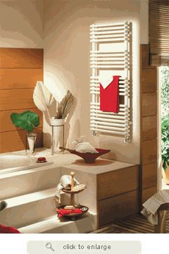 Runtal Radiators Neptune Electric Plug-in Painted Finish Towel Warmer from towelwarmeroutlet.com