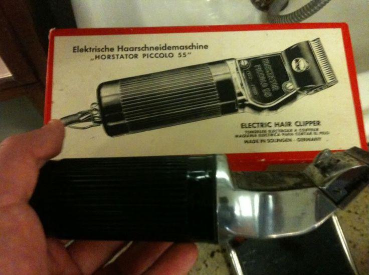 Diary of a vintage barber enthusiast: Horstator Piccolo 55