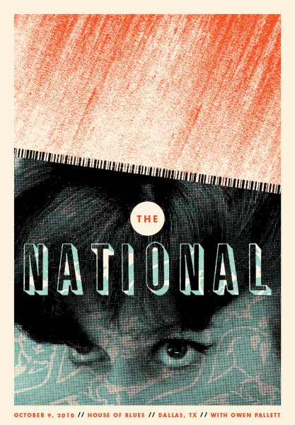 Indie Band Posters | tags the national