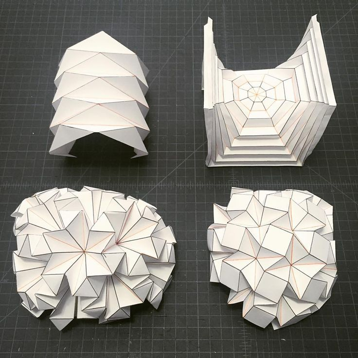 Best 25 geometric origami ideas on pinterest diamond for Architecture origami