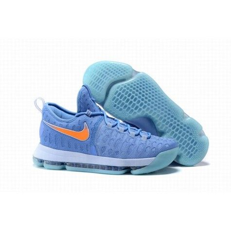 best website 4961b 85ed2 Homme Perméable À L Air Nike KD 9 À La Mode Bleu Orange Wholesale En