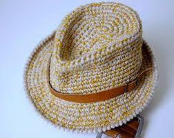 fedora hat crochet pattern free - Google-Suche