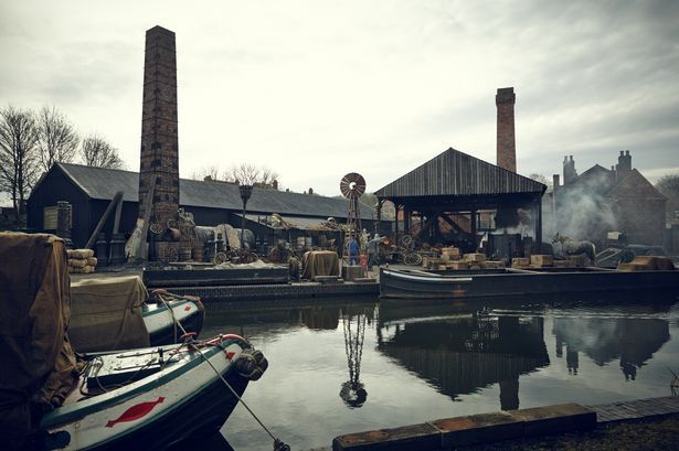 Filming Peaky Blinders at the Black Country Living Museum in Dudley
