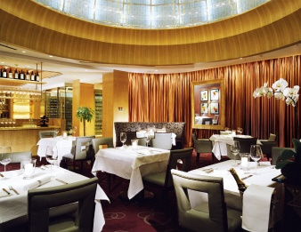 Seoul, Lotte Hotel's lobby has an Italian place. Exquisite food and not unreasonable.