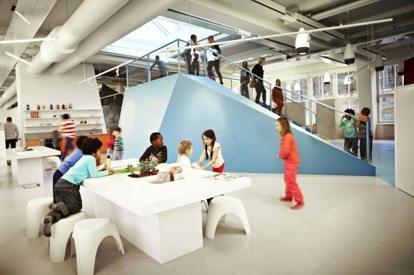 modern school, architecture
