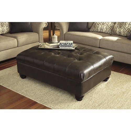 Get Your Jonette   Stone   Oversized Accent Ottoman At Furniture World  Superstore, Lexington KY Furniture Store.
