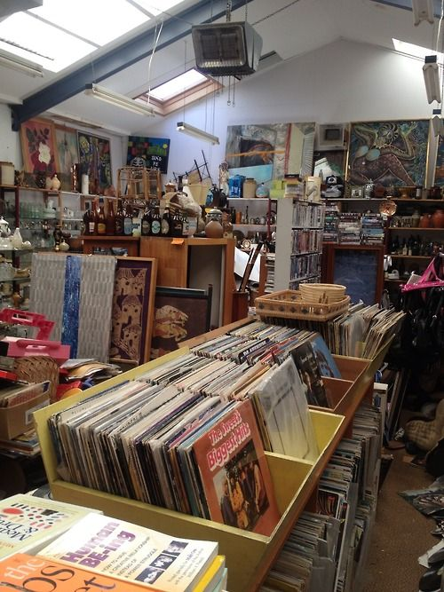 Wellington's most intense bric-a-brac/junk shop experience - the first part of this cluttered space is a mere decoy - behind lies a mini-warehouse of lost and found pseudo-treasures. If you're looking for glassware, vinyl, books, memorabilia this is the place