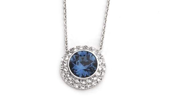Sapphire Crystal Pendant from the Sparkle Collection.  http://www.sterns.co.za