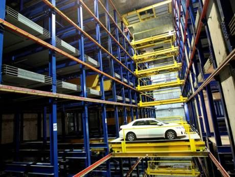 #Garage #Parking #System, Cargo Lifts Services UAE - Total Scope Lift & Escalator Contraction LLC