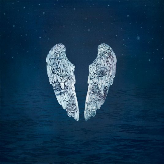 Coldplay Album cover, very beautiful and visually stunning.
