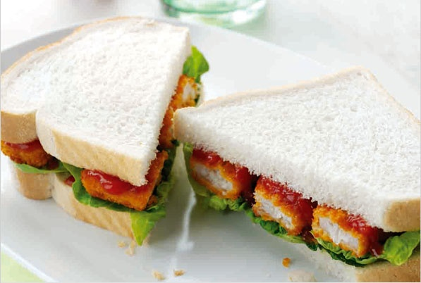 The Fish Finger Sandwich - Classic comfort food, perfect for a Monday night.  www.tablecrowd.com