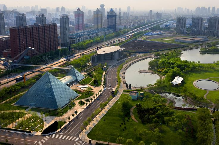 Binhai New Area of Tianjin 天津滨海新区