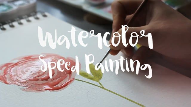 A short video of me painting a flower. Music: Youtube Audio Library  www.jeanbalogh.com www.etsy.com/shop/JeanBalogh www.jeanbalogh.tumblr.com www.facebook.com/JeanBaloghIllustration
