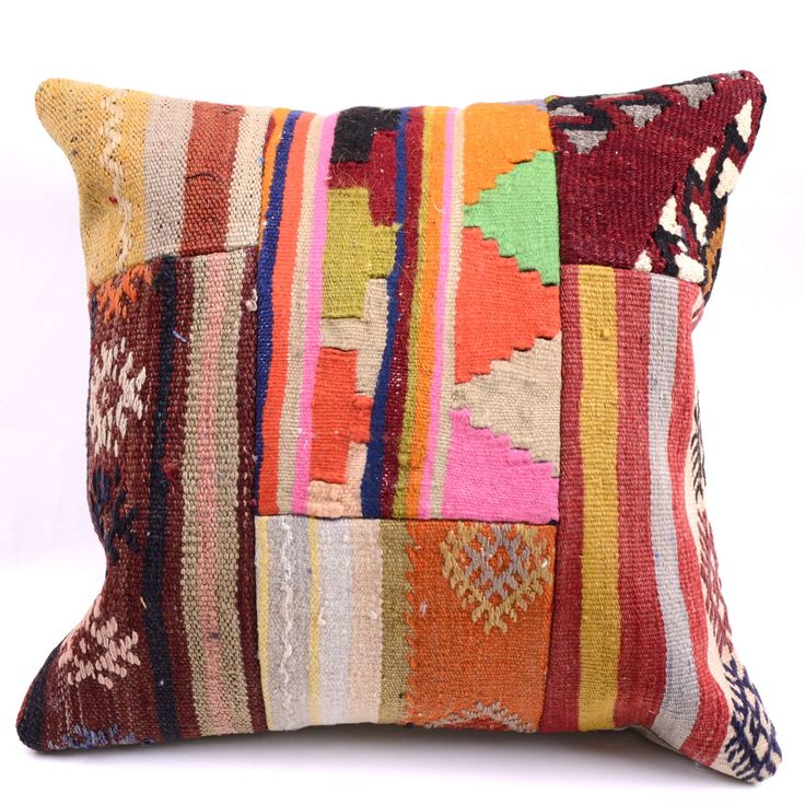 Kilim Pillow Cover 4405 - Weaved Arts