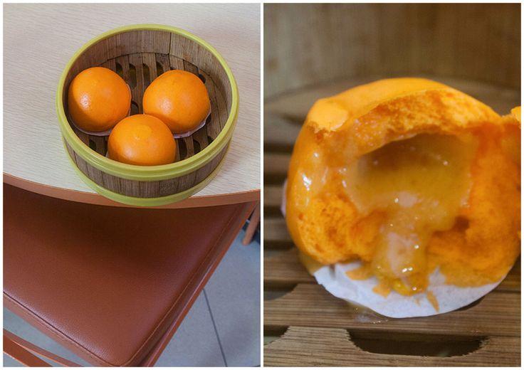 Yumzaa Restaurant Review- Egg yolk steamed bun