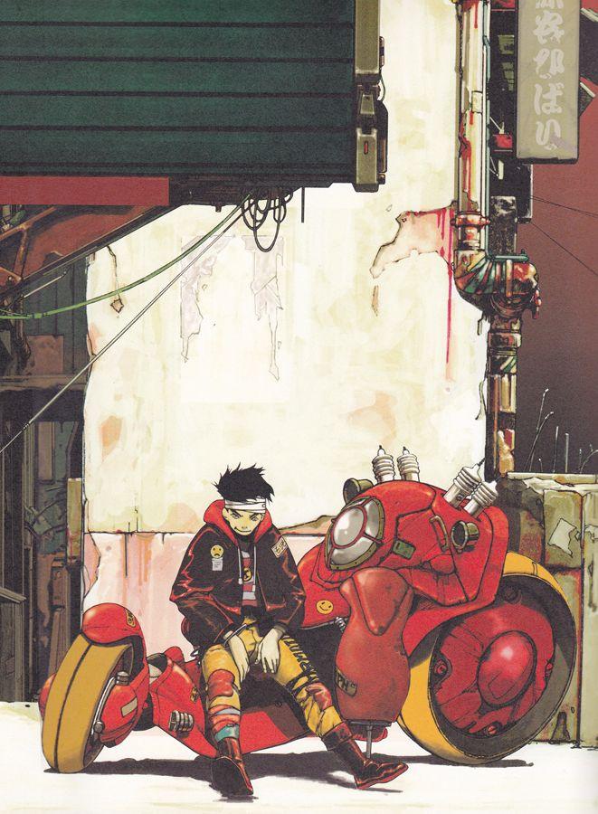 Koji Morimoto, good Akira Tribute. ★ || CHARACTER DESIGN REFERENCES | キャラクターデザイン…