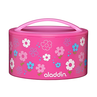 Aladdin Bento Kids Lunch Box, Pink online at JohnLewis.com £12
