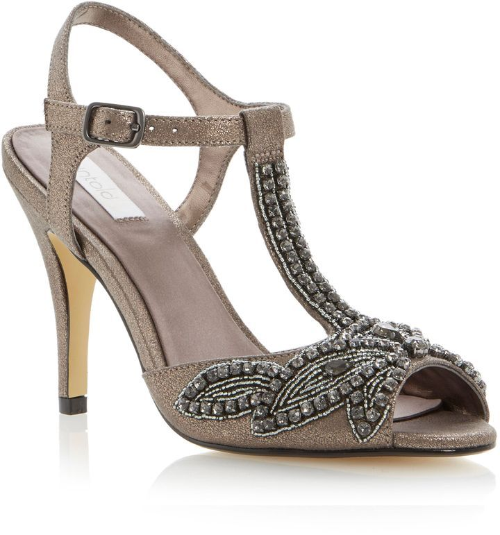 Untold Hilicky embellished sandals on shopstyle.com
